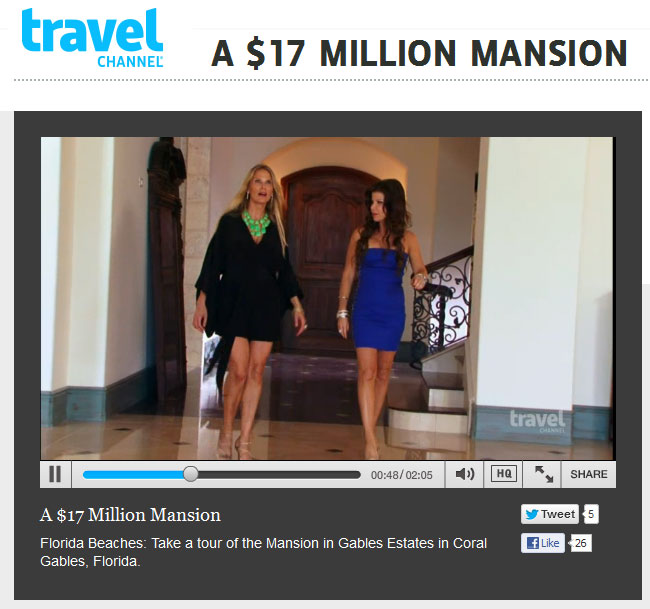 Lucrecia Lindemann Luxury Real Estate in Miami Travel Channel TLC